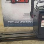 used forklift linde series 132 n20 n24hp electric order picker u20175 3