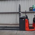 used forklift linde series 132 n20-n24hp electric order picker - U72936V.1